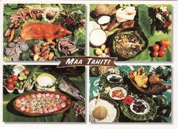 French Polynesia, Tahiti, Plats Traditioneels De La Cuisine Tahitienne, Used - Französisch-Polynesien