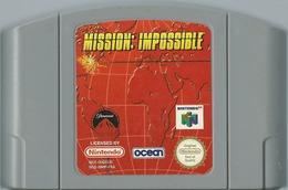 JEU NINTENDO 64 MISSION : IMPOSSIBLE SANS BOITE NI NOTICE - Nintendo 64