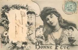 BONNE FETE PAR A.BERGERET - Bergeret