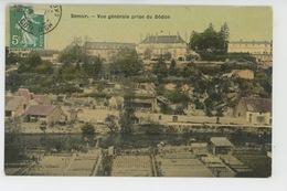 SEMUR - Vue Générale Prise Du Dôdon (belle Carte Toilée ) - Semur