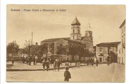 CASCANO - PIAZZA CHIESA E MONUMENTO AI CADUTI - Caserta