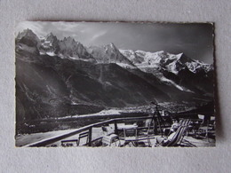 74 Châlet De LA FLORIA De La Terrasse: Vu Sur CHAMONIX, Sur Les Aiguilles Et Le Massif Du MONT-BLANC - Chamonix-Mont-Blanc