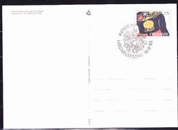 "Dänemark Denmark Danemark - Postkarte ""Silberschmuck"" (MiNr: P 289) 1993  - FDC - Interi Postali"