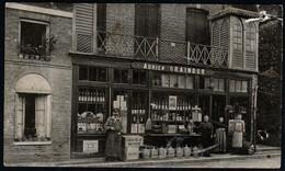 Pavilly Magasin Graindor Chocolat Menier Texte Absinthe  écrite 1913 Pour Fougerolles Lemercier Très Rare Voir Explic - Pavilly