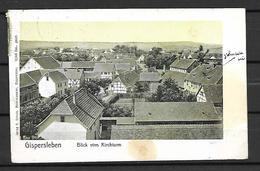 ALLEMAGNE    -  1910 .  CP De Gispersleben.  Pour Morez / Jura  En France. - Germania
