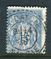 Rare N° 101 - Cachet à Date De La Bathie ( Savoie 1897 ) - 1876-1898 Sage (Type II)