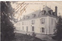60. CHAUMONT EN VEXIN. CPA. CHATEAU DU JARD. ANNÉE 1914 + TEXTE - Chaumont En Vexin