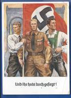 POSTKARTE   Avec Affranchi à  6  Deutches Reich  Oblitération: 1938 - Guerra 1939-45