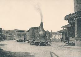 Uzer (07) Train Pour St. Paul Le Jeune - Vers 1925 - Francia