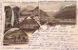 CPA  - Suisse - Gruss Aus Engelberg - 1897 - Edelweiss - ETAT MOYEN - OW Obwald
