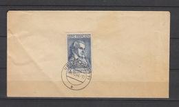 Deutschland Alliierte  Besetzung Französische Zone Gestempelt  12 Auf Blanco Brief Dichter Katalog  90,00 - Zone Française