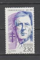 FRANCE / 1990 / Y&T N° 2634 ** : Charles De Gaulle X 1 - Gomme D'origine Intacte - France
