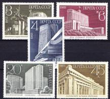 RUSSIE - URSS 1983 YT N° 5058 à 5062 ** - Ongebruikt