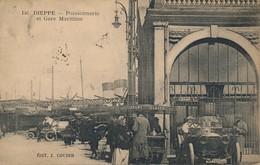 I186 - 76 - DIEPPE - Seine-Maritime - Poissonnerie Et Gare Maritime - Dieppe