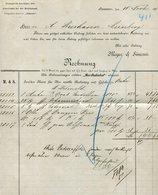 Rechnung / 1893 / Meyer Und Simons Hannover (2131) - Deutschland