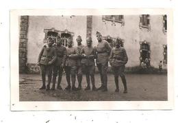 La Courtine 1935- Militaires Photo Format 11.5 X7.2  (D.4074) - Guerra, Militari