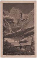 Grainau Hammersbach - S/w Höllentalangerhütte Mit Zugspitze Und Riffelscharte - Allemagne