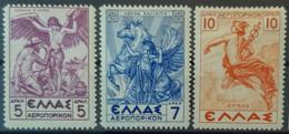 GREECE 1937/39 - MLH - Sc# C33, C34, C35 - Neufs