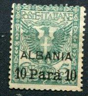 Levante - Albania - 10 Para (senza Gomma) - 11. Oficina De Extranjeros