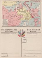 """FRANCE : CORRESPONDANCE DES ARMEES . FM . CARTES . """" N° 4 . ARGONNE ET COTES DE MEUSE """" . - Postmark Collection (Covers)"""
