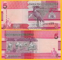 Gambia 5 Dalasis P-new 2019 UNC Banknote - Gambia