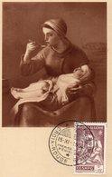 Algérie  Croix Rouge 1952 Jf Millet - Gebraucht