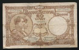 20 FRANK   2 SCANS   31.03.24 - 20 Francs