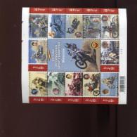 Belgie Blok Feuillet BL117 Motorcross PLAATNUMMER 3 Onder Postprijs Sous Faciale !!! - Blocks & Sheetlets 1962-....