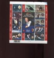 Belgie Blok Feuillet BL128 Biljart Billard Billiards Ceulemans PLAATNUMMER 3  Onder Postprijs Sous Faciale !!! - Blocks & Sheetlets 1962-....