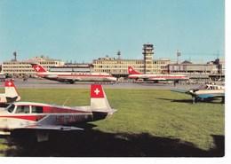 Suisse Flughof Zurich Kloten   (10J) - Airplanes