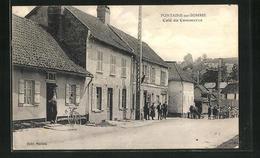 CPA Fontaine-sur-Somme, Cafe Du Commerce - Francia