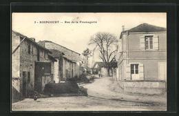 CPA Biencourt, Rue De La Fromagerie - Francia
