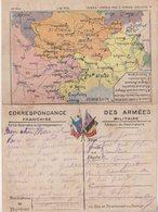 """FRANCE : CORRESPONDANCE DES ARMEES . FM . CARTES . """" N° 7 . PLATEAU DE CRAONNE """" . - Postmark Collection (Covers)"""
