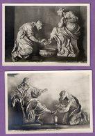 Autriche  Stift Heiligenkreuz Skulptur Von Giuliani - Culpture De Giuliani  - Abbaye Le Lot De 2 Cartes - - Heiligenkreuz