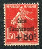RC 14714 FRANCE N° 277 - 50c S. 1f50 ROUGE SEMEUSE COTE 235€ / 125€ NEUF ** MNH ( Voir Description Et Photos ) - Unused Stamps