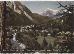Aosta Pre St Didier Monte Bianco Panorama Stazione Ferrovia Treno Fg - Italia
