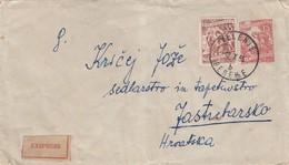 UGOSLAVIA SLOVENIA TPO CANCEL DRAVOGRAD-CELJE 86 SEZANA-BEOGRAD-GEVGELIJA 3, RIJEKA-ZAGREB 23, ZAGREB-SPLIT 32 - Slovenië