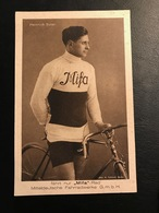 Heinrich Suter MIFA Fahrrad Cyclisme Radrennen Radsport  Cycling Velo Wielrennen - Cyclisme