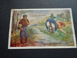 Carte ( 532 ) Fantaisie  Fantasie  Thème : Sport  Chasse  Jacht -  Groeten Uit Valkenburg ( Nederland Limburg ) - Hunting