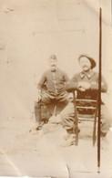 """Photo 1915 """"Rollet Et Letilleux"""", Chasseur Alpin Et Dragon Du 2ème Régiment (A216, Ww1, Wk 1) - War 1914-18"""