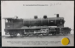 N°9) LES LOCOMOTIVES FRANCAISES-(MIDI) N° 42 - Trains