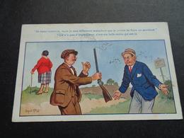 Carte ( 535 ) Fantaisie  Fantasie  Thème : Sport  Chasse  Jacht  -  Illustrateur Donald Mc Gill - Hunting