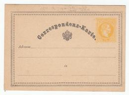 Austria Postal Stationery Postcard Correspondenz-Karte (187?) Not Posted 191201 - Ganzsachen