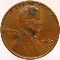 United States Of America 1 Cent 1963 D XF - Emissioni Federali