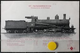 N°10) LES LOCOMOTIVES -(SUISSEI) N° 107 - Trains