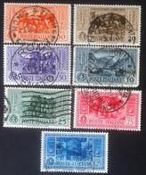 Italia Regno 1932 - 50° Morte Giuseppe Garibaldi - 7 Usati - Uni 315/321 - Italia