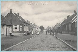 Hoevenen : Dorpzicht - Sterstempel 1911 - Stabroek