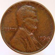 United States Of America 1 Cent 1964 D XF - Emissioni Federali
