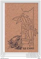 Cpsm En Liege Réf Z0.754        LE    CHAT - Chats