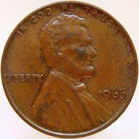 United States Of America 1 Cent 1965 XF - Emissioni Federali